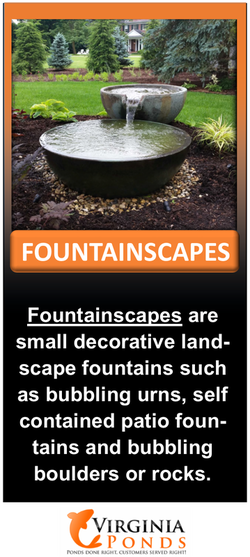 Garden Fountains design